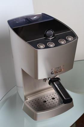 living with the gaggia dose semi automatic espresso machine. Black Bedroom Furniture Sets. Home Design Ideas