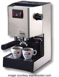 classic gaggia coffee machine instructions