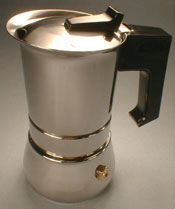 Steel Stove Top coffee maker